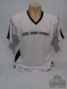 Camiseta Branca Silkada do Jorge Street