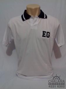 Camiseta Polo Bordada do Eduardo Gomes