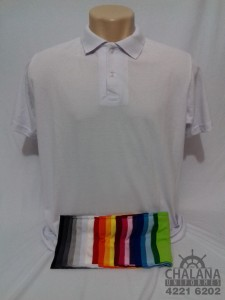 Camiseta Polo Cores